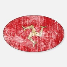 Isle of Man Flag Decal