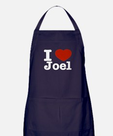 I love Joel Apron (dark)