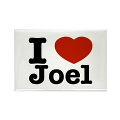 I love Joel Rectangle Magnet (10 pack)