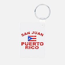 San Juan Puerto Rico designs Keychains
