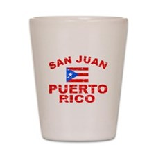 San Juan Puerto Rico designs Shot Glass
