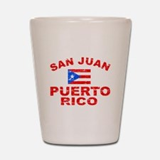 San Juan Puerto Rico designs Shot Glass