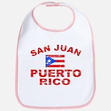 San Juan Puerto Rico designs Bib