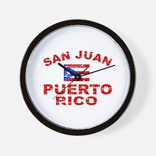 San Juan Puerto Rico designs Wall Clock