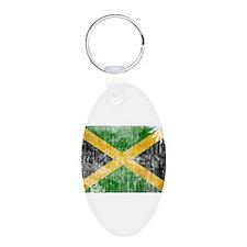 Jamaica Flag Keychains