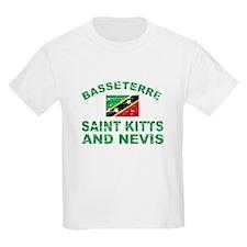 Basseterre Saint Kitts and Nevis designs T-Shirt