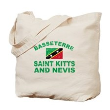 Basseterre Saint Kitts and Nevis designs Tote Bag