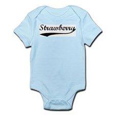 Strawberry - Vintage Infant Creeper