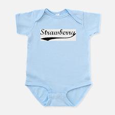 Strawberry - Vintage Infant Creeper