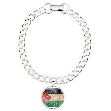 Jordan Flag Charm Bracelet, One Charm