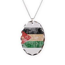 Jordan Flag Necklace