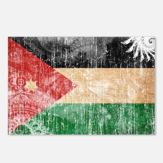 Jordan Flag Postcards (Package of 8)