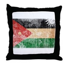 Jordan Flag Throw Pillow