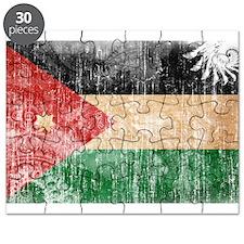 Jordan Flag Puzzle