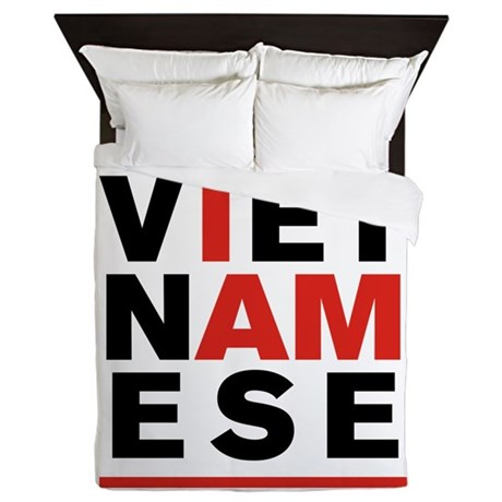 I AM VIETNAMESE Queen Duvet