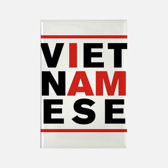 I AM VIETNAMESE Rectangle Magnet