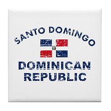 Santo Domingo Dominican Republic designs Tile Coas