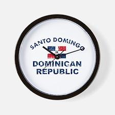 Santo Domingo Dominican Republic designs Wall Cloc