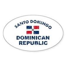 Santo Domingo Dominican Republic designs Decal