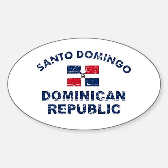 Santo Domingo Dominican Republic designs Decal