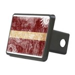 Latvia Flag Rectangular Hitch Cover