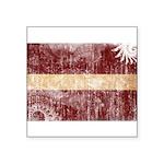 Latvia Flag Square Sticker 3