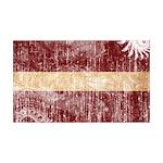 Latvia Flag 38.5 x 24.5 Wall Peel