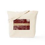Latvia Flag Tote Bag