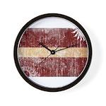 Latvia Flag Wall Clock