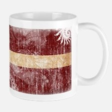 Latvia Flag Mug
