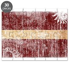 Latvia Flag Puzzle
