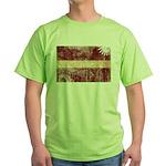 Latvia Flag Green T-Shirt