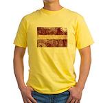 Latvia Flag Yellow T-Shirt