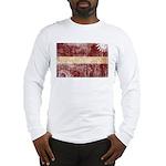 Latvia Flag Long Sleeve T-Shirt