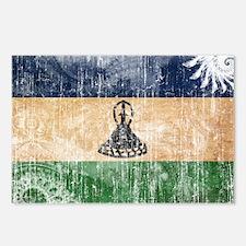 Lesotho Flag Postcards (Package of 8)