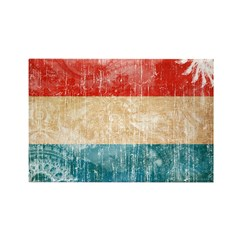 Luxembourg Flag Rectangle Magnet (100 pack)