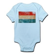 Luxembourg Flag Infant Bodysuit