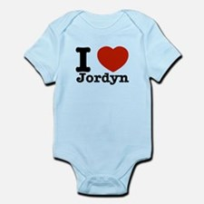 I love Jordyn Infant Bodysuit