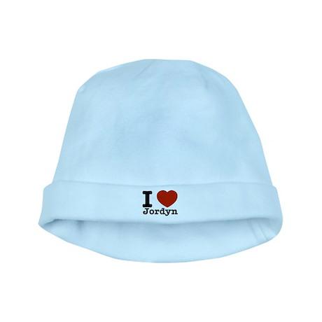 I love Jordyn baby hat