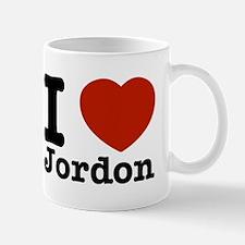 I love Jordon Mug