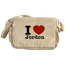 I love Jordon Messenger Bag