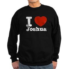 I love Joshua Sweatshirt (dark)