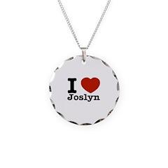 I love Joslyn Necklace