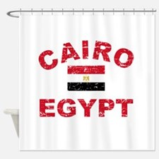egypt flag shower curtains egypt flag fabric shower curtain liner. Black Bedroom Furniture Sets. Home Design Ideas