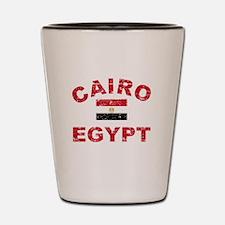 Cairo Egypt designs Shot Glass