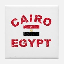 Cairo Egypt designs Tile Coaster