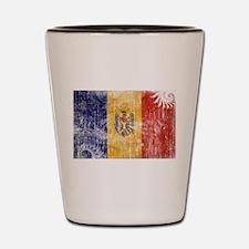Moldova Flag Shot Glass