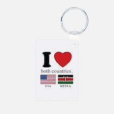 USA-KENYA Keychains