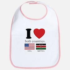 USA-KENYA Bib