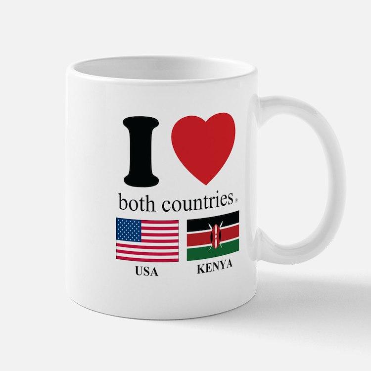 USA-KENYA Mug
